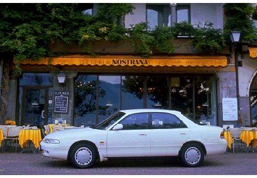 MAZDA 626 III sedan biały boczny lewy