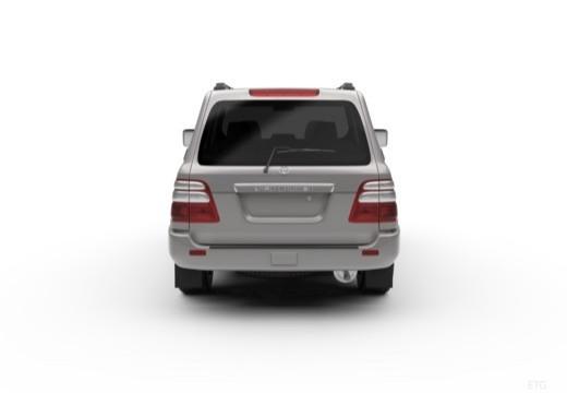 Toyota Land Cruiser 100 II kombi tylny