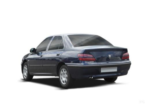 PEUGEOT 406 sedan tylny lewy