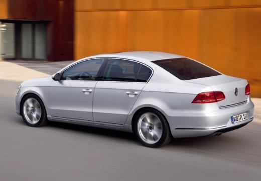 VOLKSWAGEN Passat VI sedan silver grey tylny lewy
