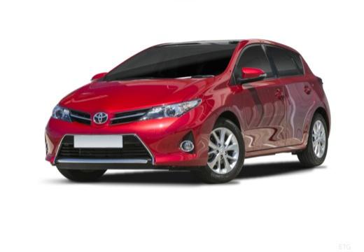 Toyota Auris I hatchback czerwony jasny przedni lewy