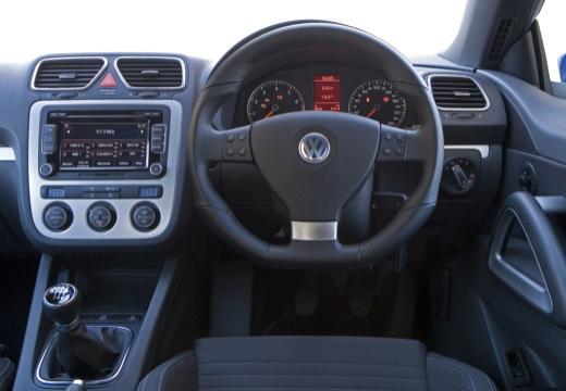 VOLKSWAGEN Scirocco III I coupe niebieski jasny tablica rozdzielcza