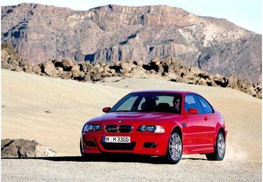 BMW Seria 3 coupe czerwony jasny przedni lewy
