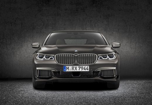 BMW Seria 7 G11 G12 I sedan szary ciemny przedni