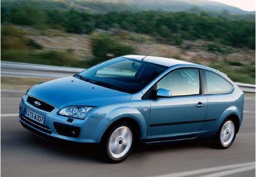 FORD Focus III hatchback niebieski jasny przedni lewy