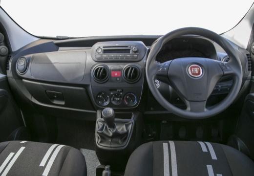 FIAT Fiorino kombi silver grey tablica rozdzielcza