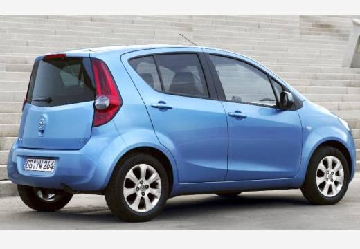 OPEL Agila hatchback niebieski jasny tylny prawy