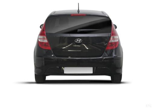 HYUNDAI i30 II hatchback czarny tylny