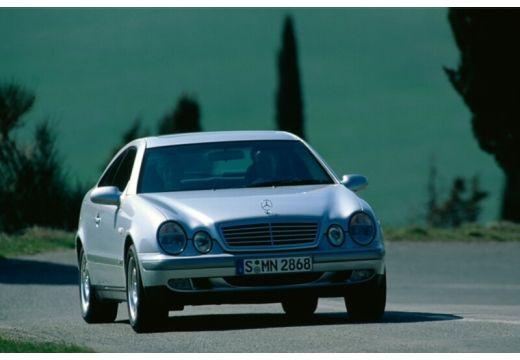 MERCEDES-BENZ Klasa CLK CLK C 208 coupe silver grey przedni prawy