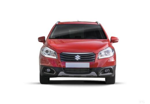 SUZUKI SX4 S-cross I hatchback czerwony jasny przedni