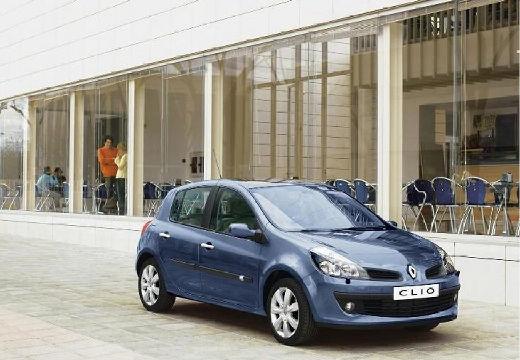 RENAULT Clio III I hatchback niebieski jasny przedni prawy