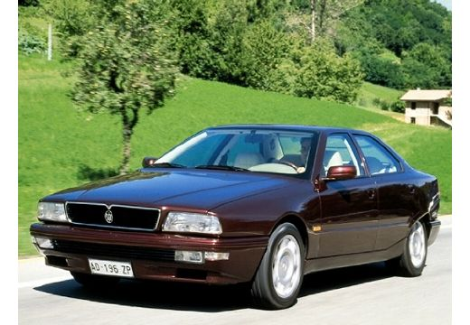 MASERATI Quattroporte I sedan bordeaux (czerwony ciemny) przedni lewy