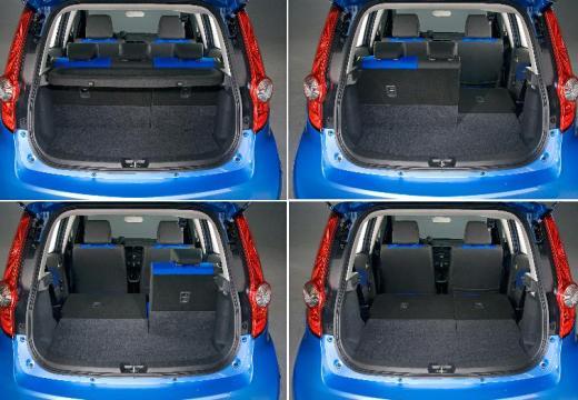 OPEL Agila hatchback przestrzeń załadunkowa