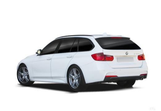 BMW Seria 3 Touring F31 I kombi biały tylny lewy