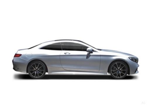 MERCEDES-BENZ S Klasa coupe boczny prawy