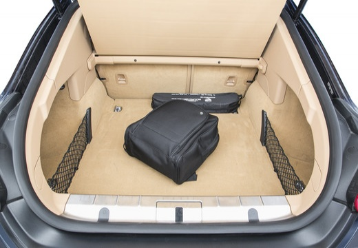 PORSCHE Panamera II hatchback przestrzeń załadunkowa