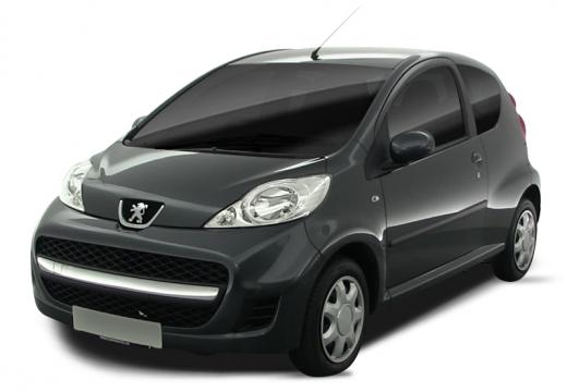 PEUGEOT 107 II hatchback czarny