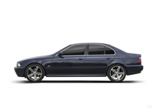 BMW Seria 5 E39 sedan boczny lewy