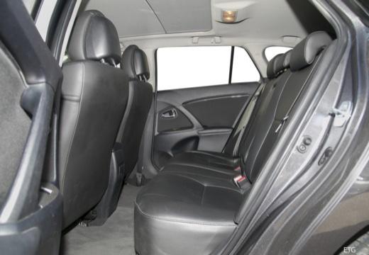 Toyota Avensis V sedan wnętrze