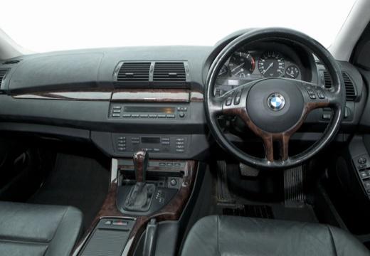 BMW X5 X 5 E53 I kombi silver grey tablica rozdzielcza