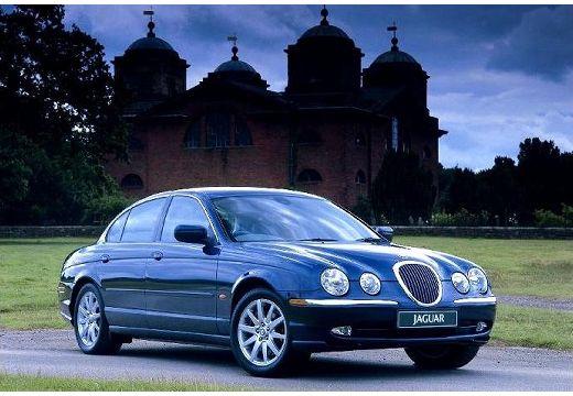 JAGUAR S-Type I sedan niebieski jasny przedni prawy