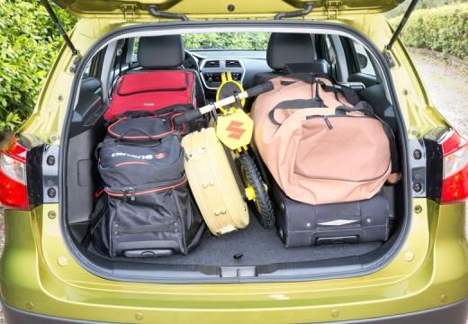 SUZUKI SX4 S-cross I hatchback przestrzeń załadunkowa