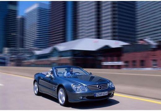 MERCEDES-BENZ Klasa SL SL 230 I roadster czarny przedni prawy
