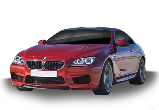 BMW Seria 6 F13 I coupe czerwony jasny