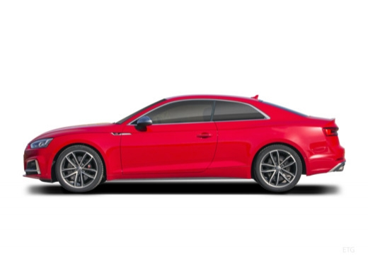 AUDI A5 coupe boczny lewy
