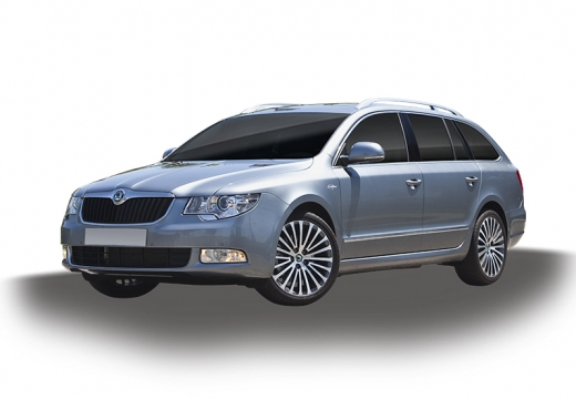 SKODA Superb I kombi silver grey