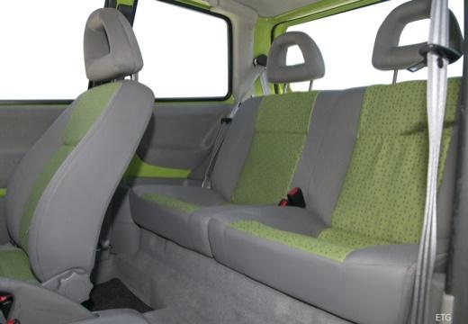 VOLKSWAGEN Lupo hatchback wnętrze