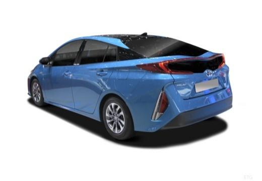 Toyota Prius hatchback tylny lewy