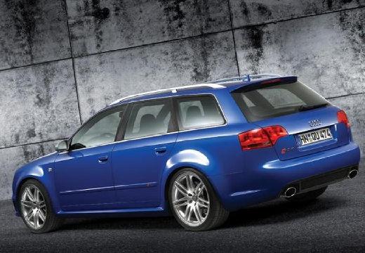 AUDI A4 Avant 8E II kombi niebieski jasny tylny lewy