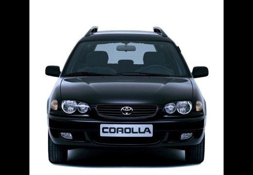 Toyota Corolla IV kombi czarny przedni