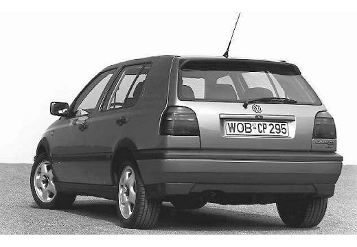 VOLKSWAGEN Golf III hatchback tylny lewy