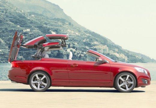 VOLVO C70 Cabrio III kabriolet czerwony jasny boczny prawy
