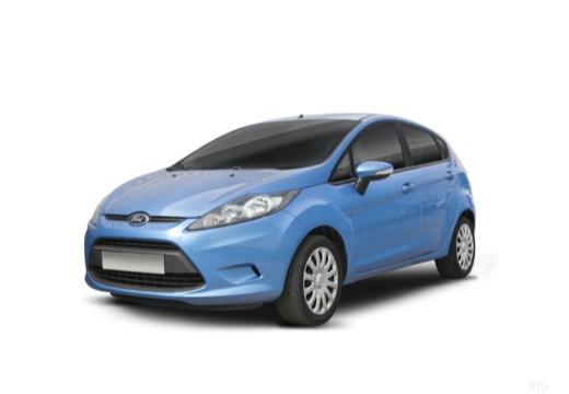 FORD Fiesta VII hatchback niebieski jasny przedni lewy