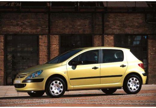 PEUGEOT 307 hatchback złoty przedni lewy