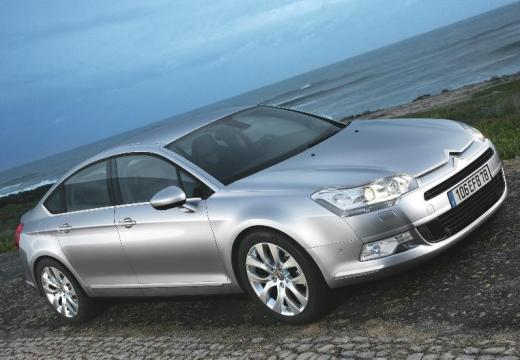 CITROEN C5 III sedan silver grey przedni prawy