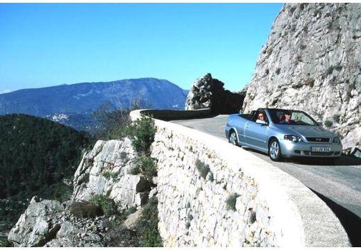 OPEL Astra II Cabriolet kabriolet silver grey przedni prawy