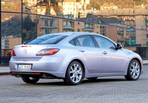 MAZDA 6 III hatchback silver grey tylny prawy