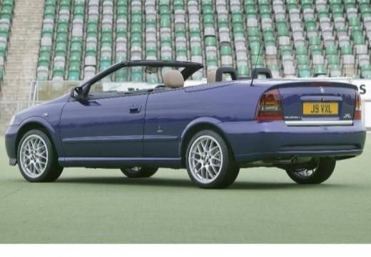 OPEL Astra II Cabriolet kabriolet niebieski jasny tylny lewy