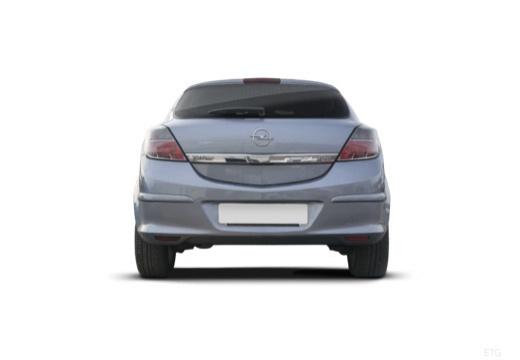 OPEL Astra III GTC I hatchback szary ciemny tylny
