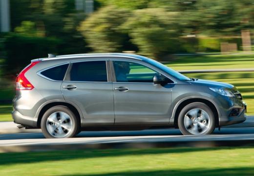 HONDA CR-V kombi silver grey boczny prawy