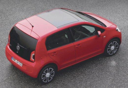 VOLKSWAGEN up I hatchback czerwony jasny tylny prawy