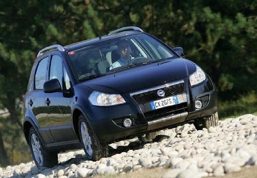 FIAT Sedici kombi czarny przedni prawy
