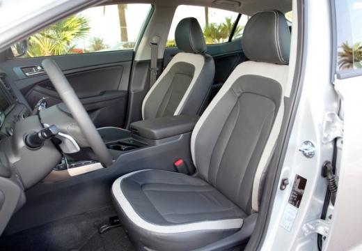 KIA Optima IV sedan wnętrze