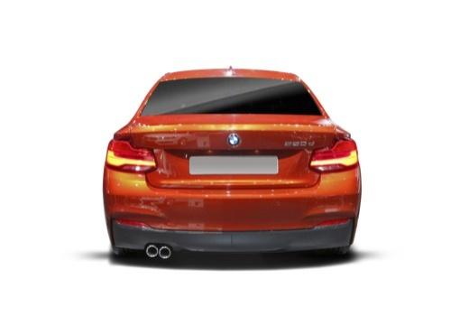 BMW Seria 2 F22 II coupe tylny