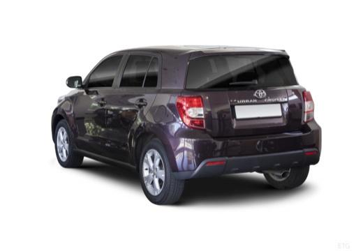 Toyota Urban Cruiser I hatchback fioletowy tylny lewy