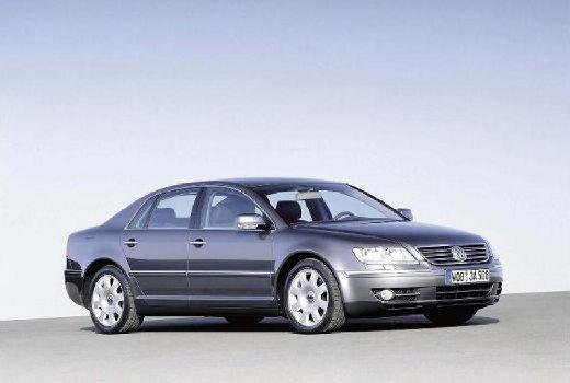 VOLKSWAGEN Phaeton sedan silver grey przedni prawy